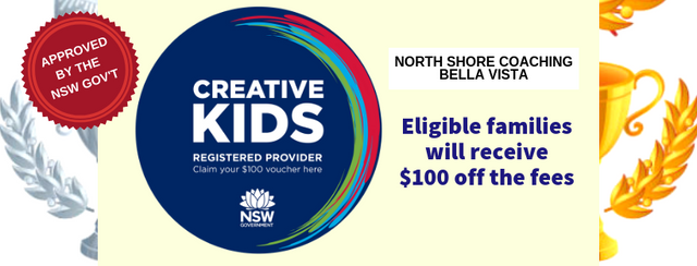 North Shore Coaching Bella Vista Creative Kids Voucher