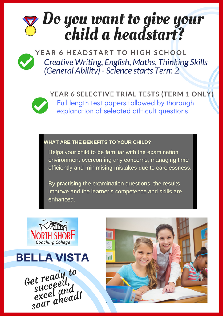 North Shore Coaching Bella Vista Tutoring