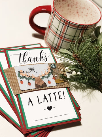 10 Thanks A Latte Cards