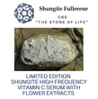 Shungite High Frequency Vitamin C with Flower Extracts Serum