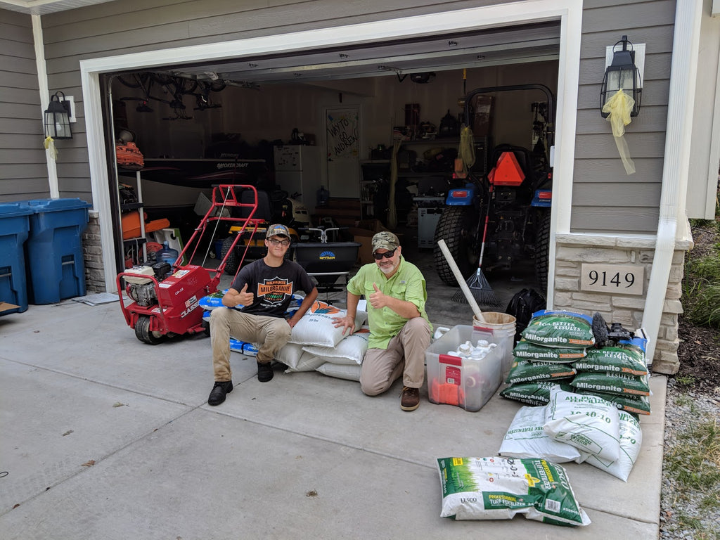 Cool Season Lawn Rehab Project - Supplement Guide