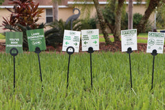 Lawn Flag: Variety (10 Pack)
