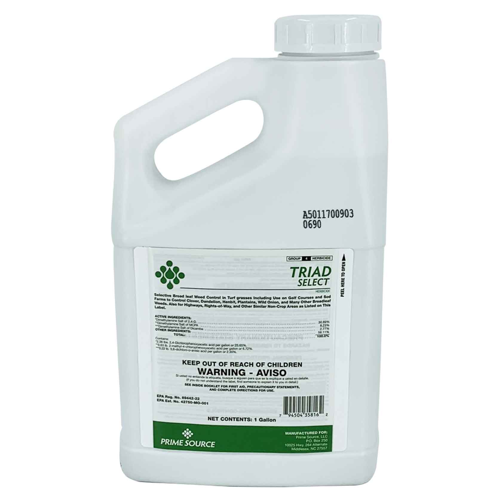 Broadleaf Weed Control - Triad Select™ 3-Way Herbicide
