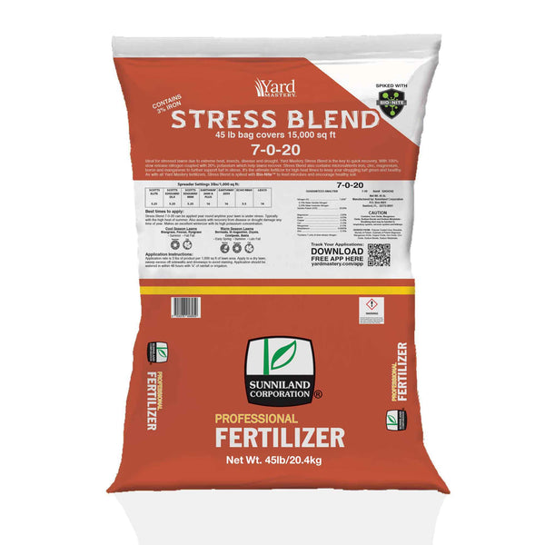7-0-20 Stress Blend (with Bio-Nite™) - Granular Lawn Fertilizer