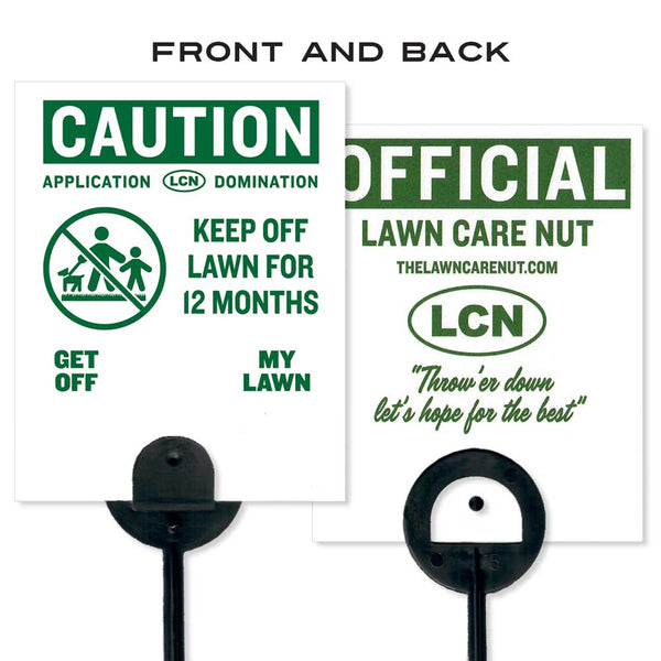 Lawn Flag: Keep Off Lawn (10 Pack)