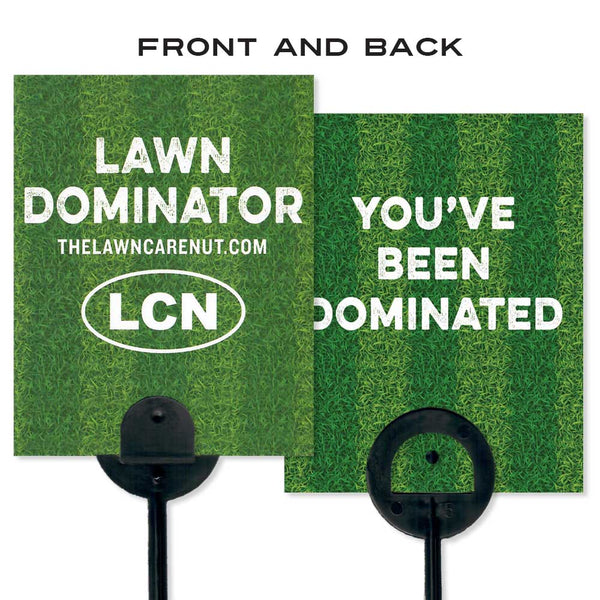 Lawn Flag: Lawn Dominator (10 Pack)
