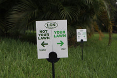 Lawn Flag: Your Lawn / Not Your Lawn (10 Pack)