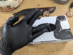 Black Diesel Glove (2 Box Pack) +Free Shipping