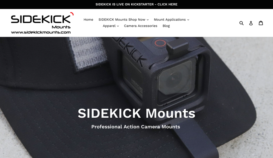 New website for SIDEKICK Mounts - LIVE today!