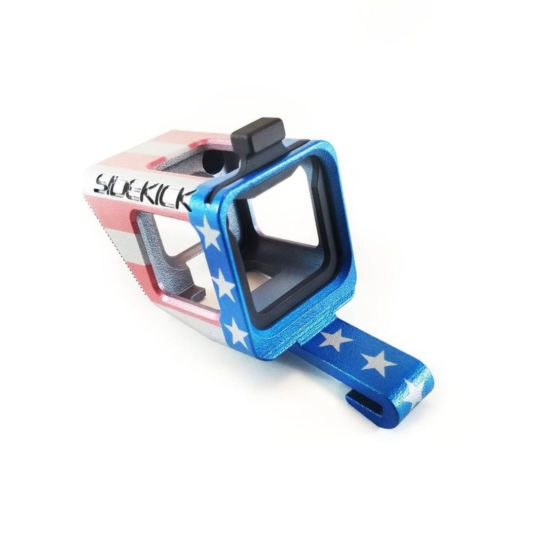 Limited Edition US Flag SIDEKICK GoPro®HERO and HERO5 Session POV Cap Mount