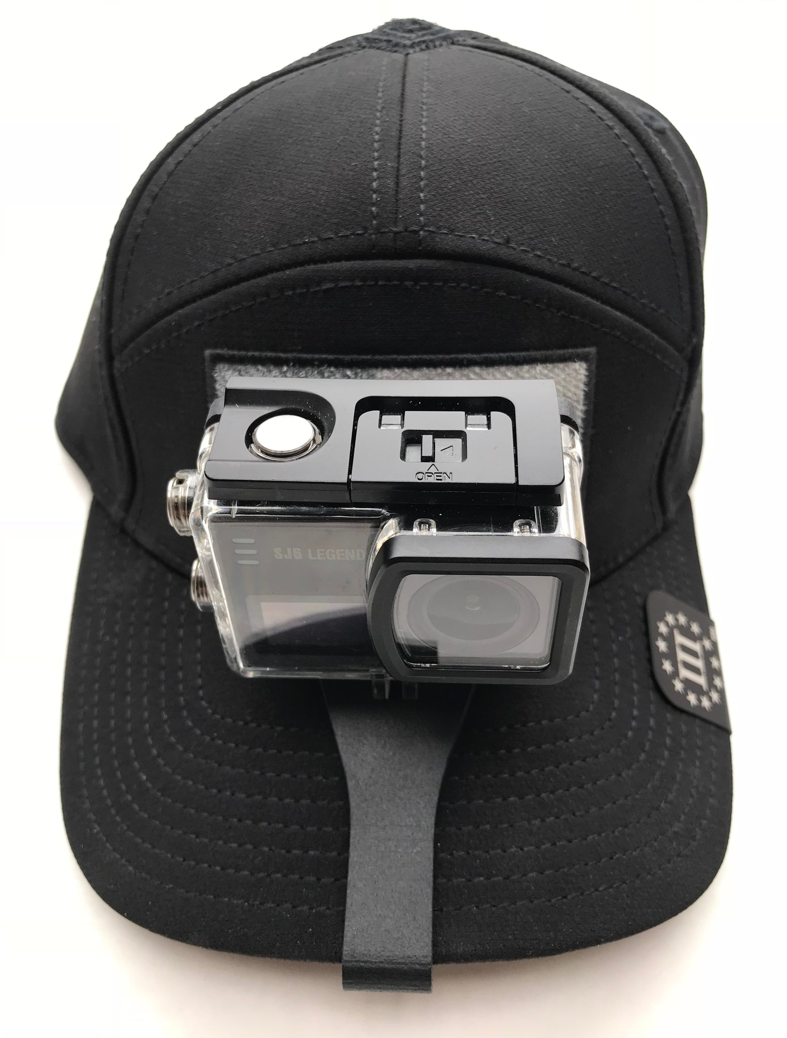 c29f01dcc6f ... SIDEKICK POV Cap Mount for the SJCamHD Cameras - clips to Velcro Cap