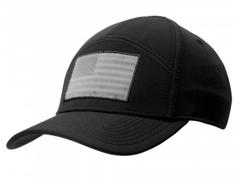 Black 5.11 Operator 2.0 Velcro Cap for SIDEKICK Mounts