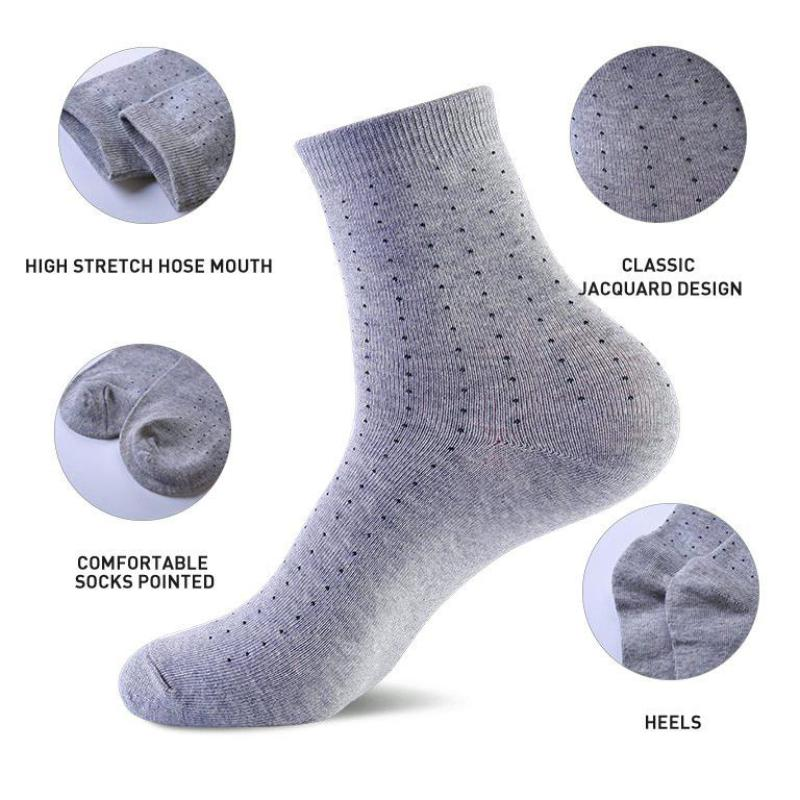 »Polka Dot Backup Socks« <br> 5 colors <br> · 10 pairs  ·