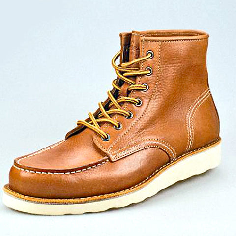 Image of Outdoor Leather Boots <br>  · Non-slip <br>  ·2 leather colors