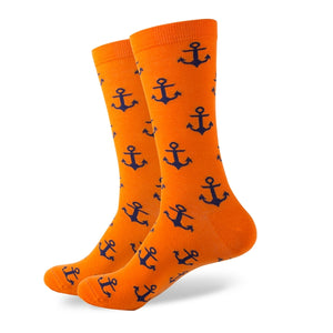 Anchor Cotton Socks <br> · 5 color variants <br> · One pair