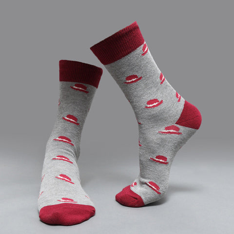 Image of »Hercules Poirot Hat« cotton socks 