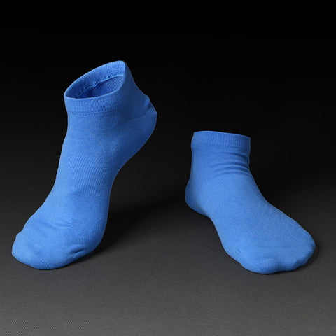 Ankle short cotton socks for spring summer 