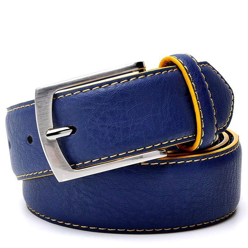 Split Leather Belt · Italian Design