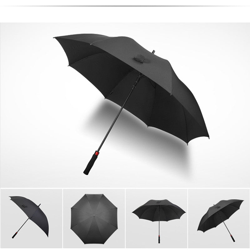 Businessmen large umbrella with automatic handle