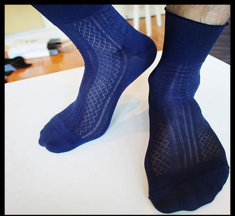 Silky gentlemen socks
