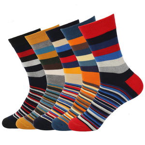 Striped cotton cocks 