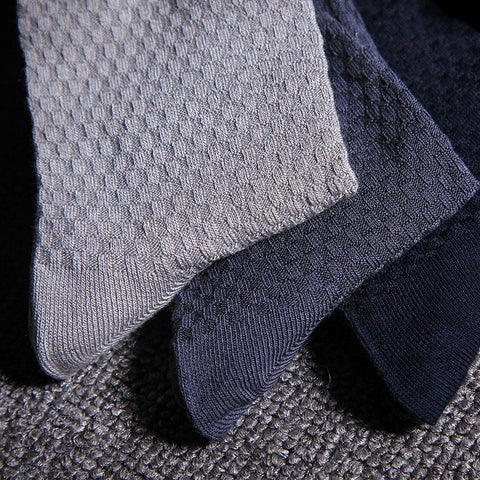 Bamboo fiber socks · 5 Colors · 5 pairs in a gift box