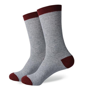 Gray & Claret cotton socks 