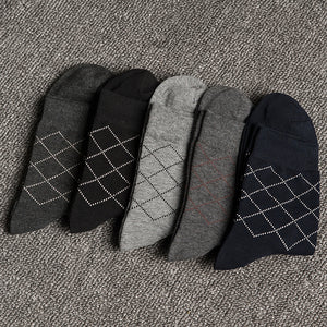 Combed Cotton Breathable Socks · 5 Pairs in a Gift Box