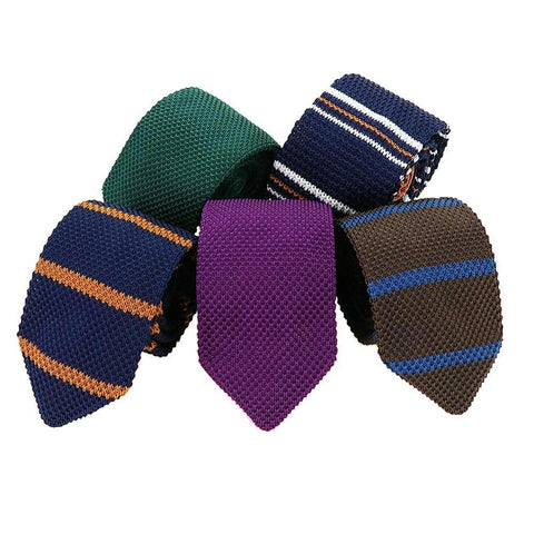 Image of Men's Suit Knitted Necktie 
