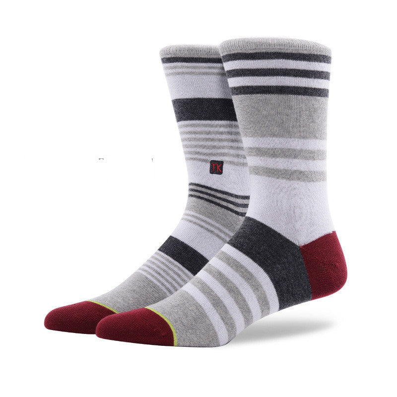 Assorted Crew Cotton Socks · One Pair