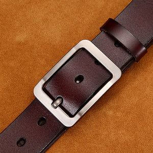 Men's Genuine Leather Belt <br> ·  2 colors