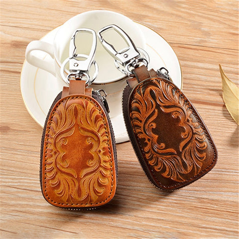 Image of Vintage Leather Key-holder <br> · 4 colors