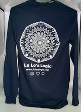 """Luna"" Mandala Long Sleeve Tee"