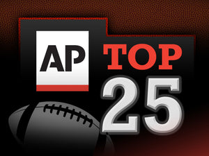 AP College Football Poll Top 25