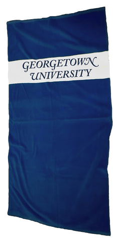 Georgetown University Beach-Bath Towel