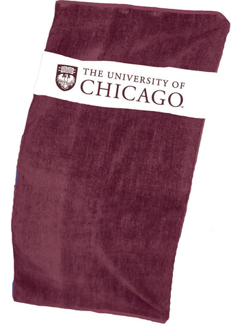 University of Chicago Beach-Bath Towel