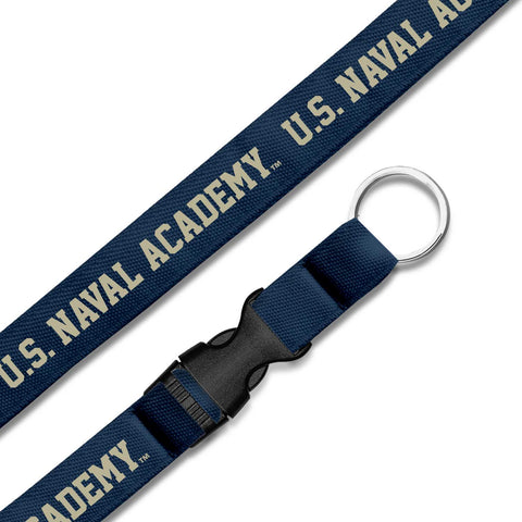 US Naval Academy Military Branch Lanyard
