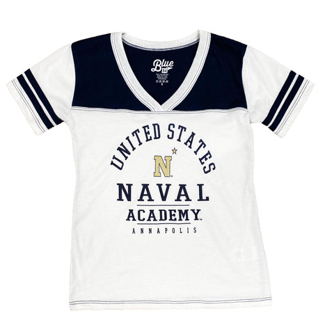 US Naval Academy Girls Youth Tee Shirt