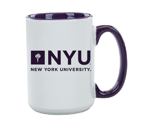 New York University 15oz Beverage Mug