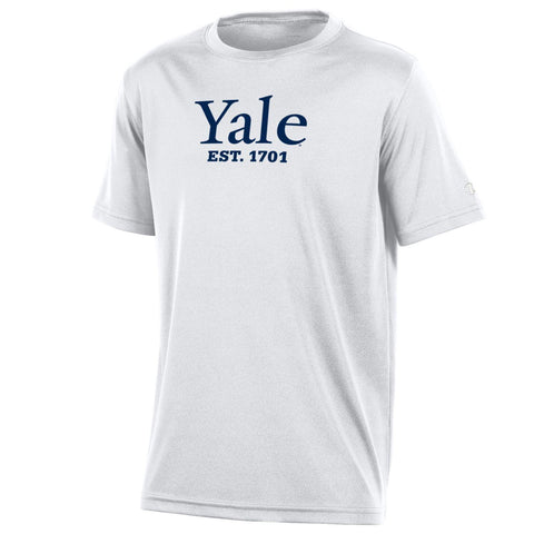 Yale University Youth Boys Tee Shirt, White