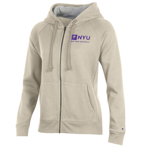 New York University NYU Zip Hoodie