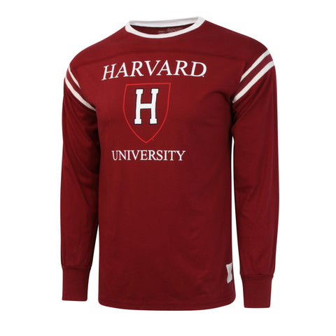 Harvard University Banded Football Jersey LS Shirt