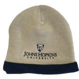 Johns Hopkins University Embroidered Knit Beanie Cap