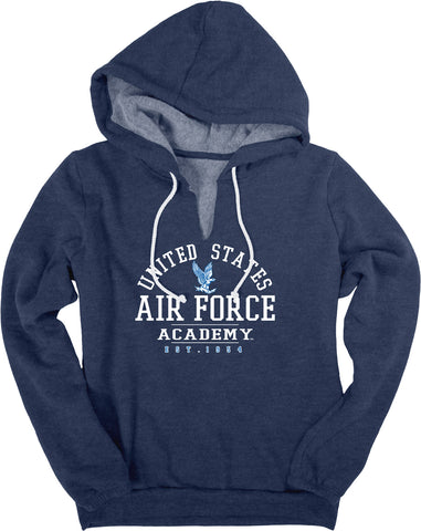 US Air Force Academy V-Notch Fleece Hoodie