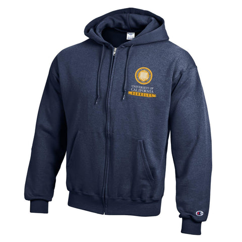 University of California Berkeley Zip Hoodie, Seal