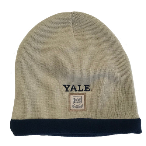 Yale University Embroidered Knit Beanie Cap