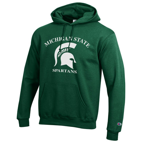 Michigan State University Spartans Pullover Sweater Hoodie