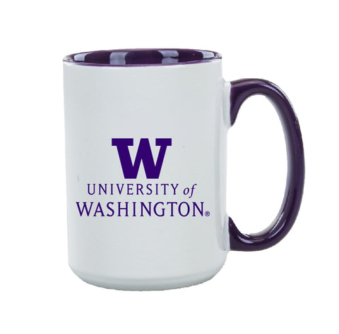 "University of Washington ""W"" 15oz Beverage Mug"