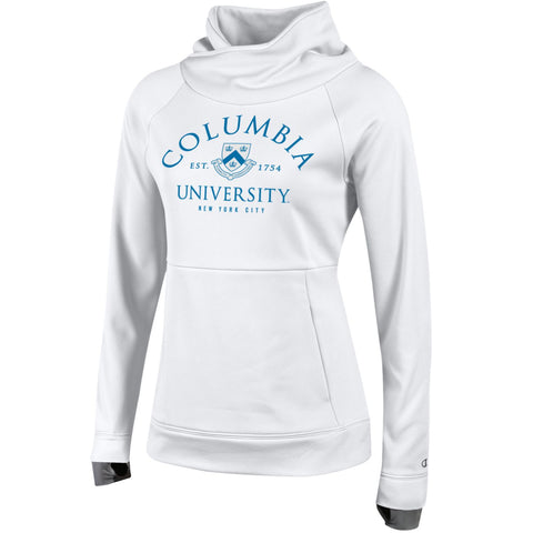 Columbia University Fleece Funnel Pullover Hoodie