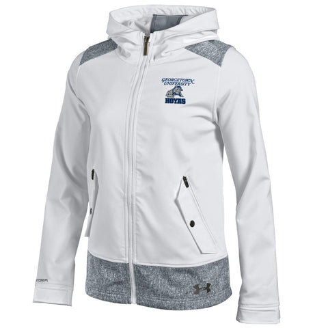 Georgetown University Split Softshell Zip Hoodie Jacket